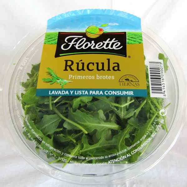 Rucula Florette, antioxidante. Fruteria Online. Huverfruit Madrid